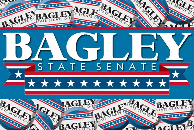 Bagley for Senate Buttons