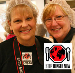 Photographing a Stop Hunger Now Event at Grove UMC